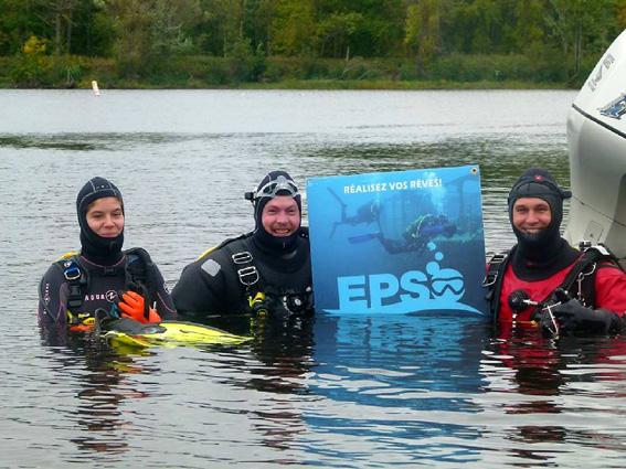 Rapport de plongée - Projet Belle-Eau Phase 2, Rivière des Outaouais - 7 octobre 2018 9-epso10