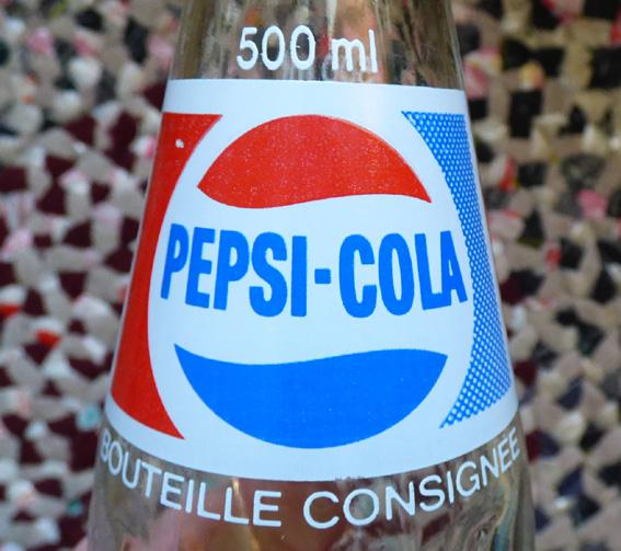 Bouteille de Pepsi ACL peu commune  Pepsi410