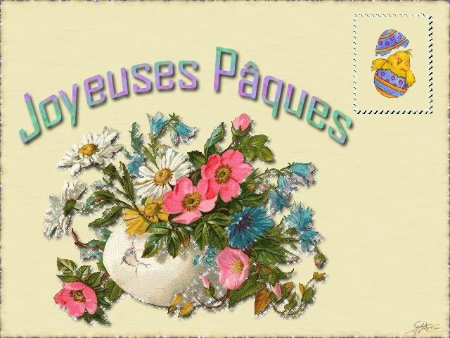 Bonnes fêtes de Pâques Carte-10