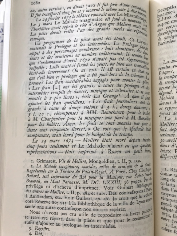 1re : Le malade imaginaire + parcours - Page 6 F6bfe410
