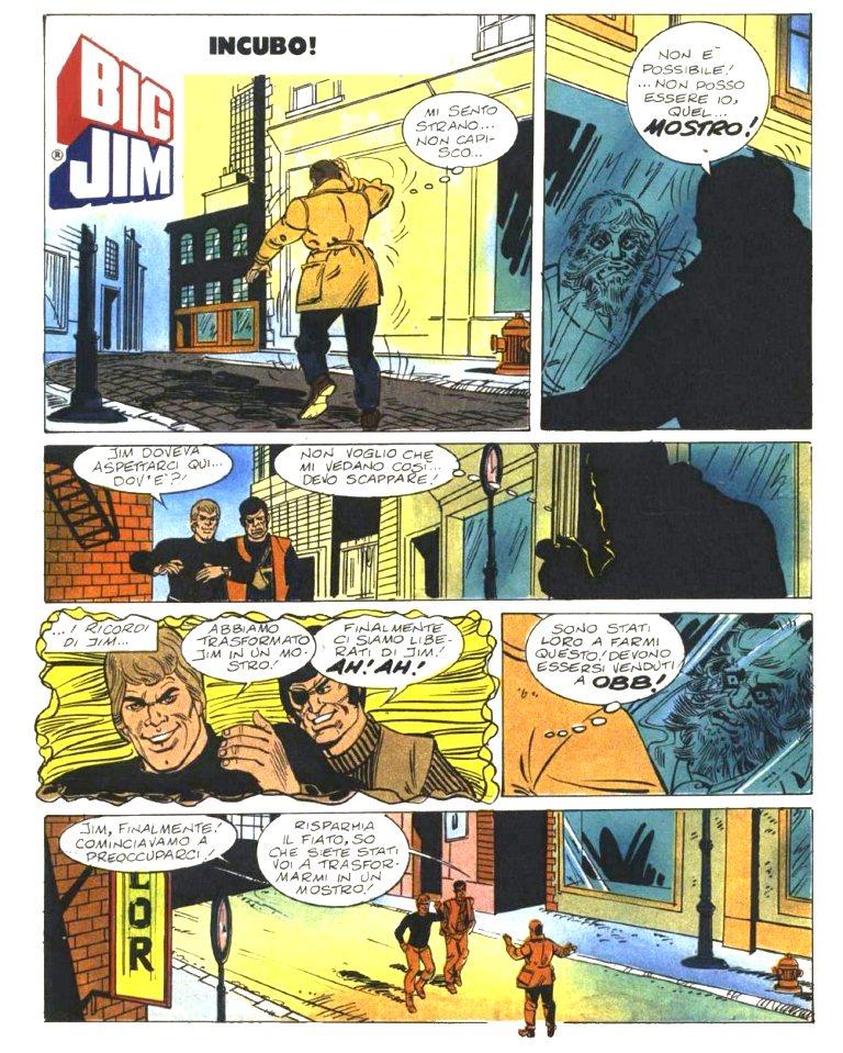 """FUMETTO :  Serie SPY """"Incubo""""  Incubo10"""