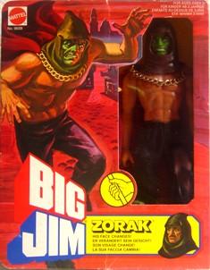 "ZORAK ""The Enemy"" He's Double Trouble  P.A.C.K.  No. 9288 Zorak012"