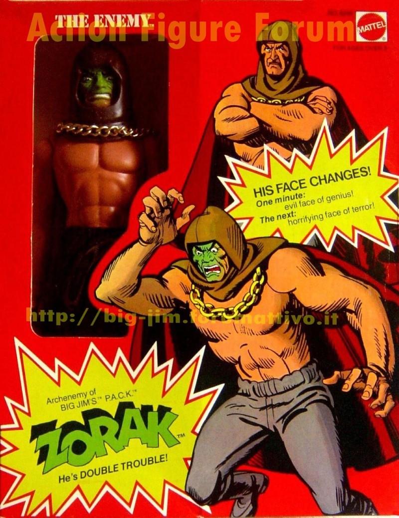 "ZORAK ""The Enemy"" He's Double Trouble  P.A.C.K.  No. 9288 Zorak_11"