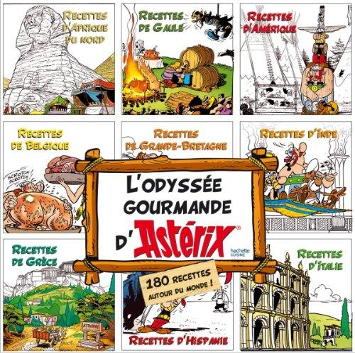 Coffret 9 Mini-livres - L'odysée gourmande d'Astérix 97820110