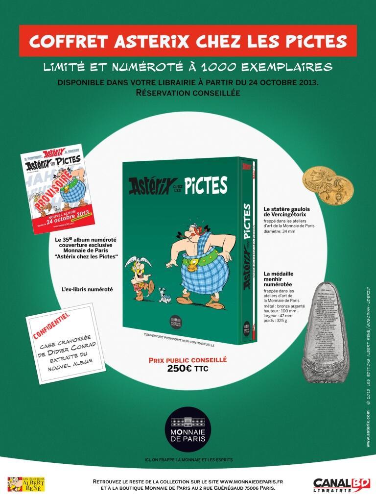 Pièce de collection - La monnaie de Paris avec Astérix (octobre 2013) Monnai10