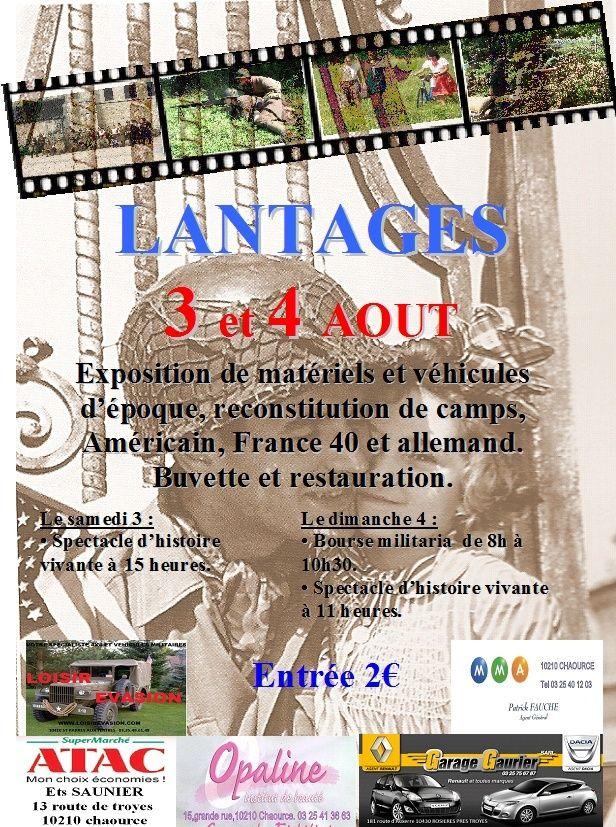 2 au 4 Aout Lantag10