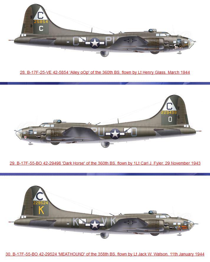 transformation B-17G monogram  en B-17 F 311