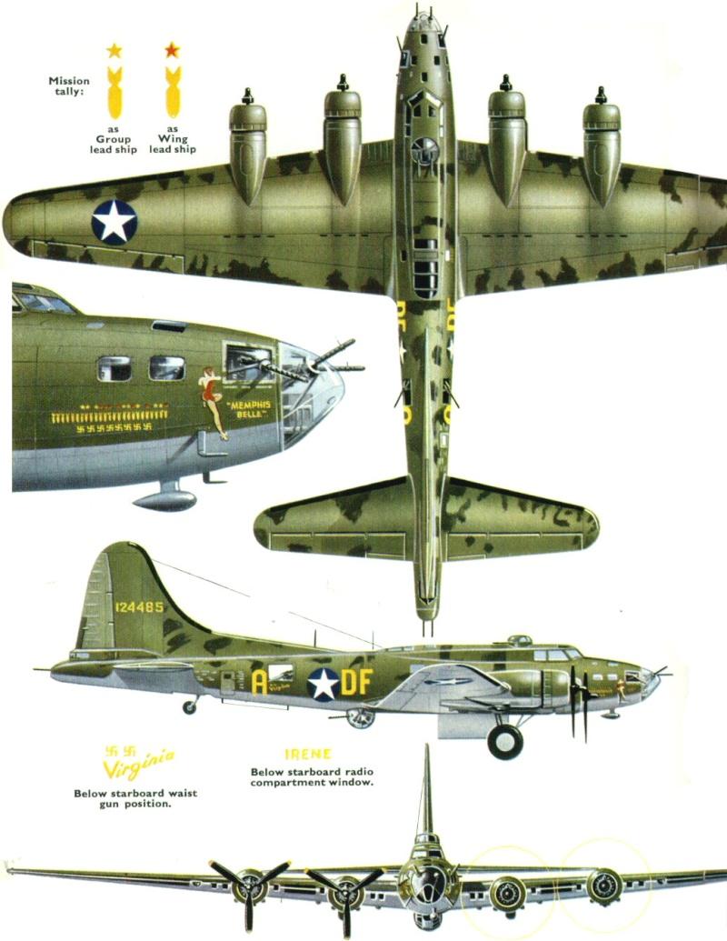 transformation B-17G monogram  en B-17 F 3_22_a10