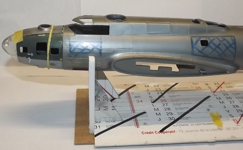 transformation B-17G monogram  en B-17 F Dacoup13