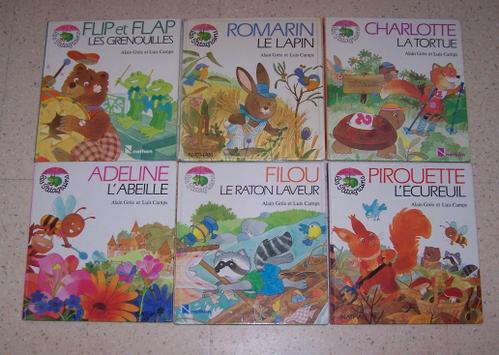 Les farfeluches  livres éducatifs vintage dessin de A.Gree 100_5110