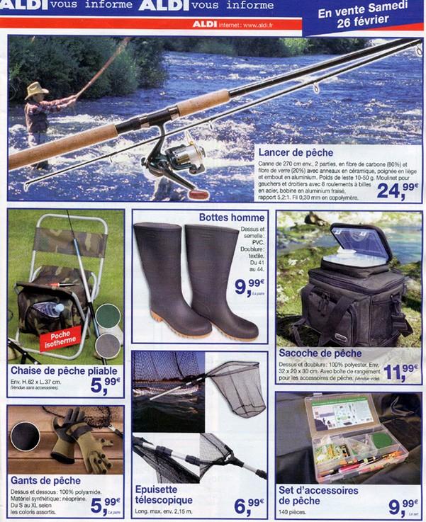 articles pêche  ALDI autant dire du très haut de gamme!!!! Aldi10