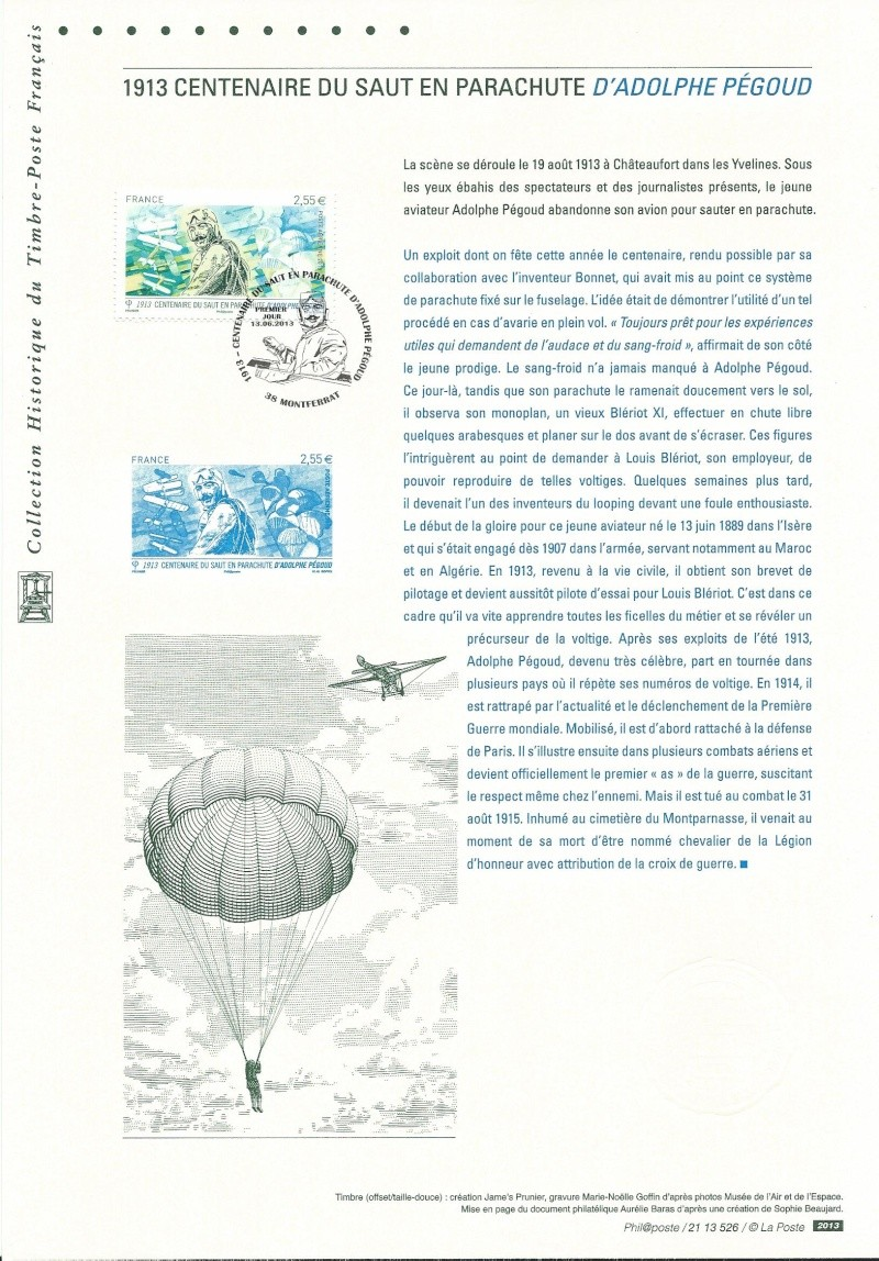 Philatélie et aviation - Page 2 Pegoud11