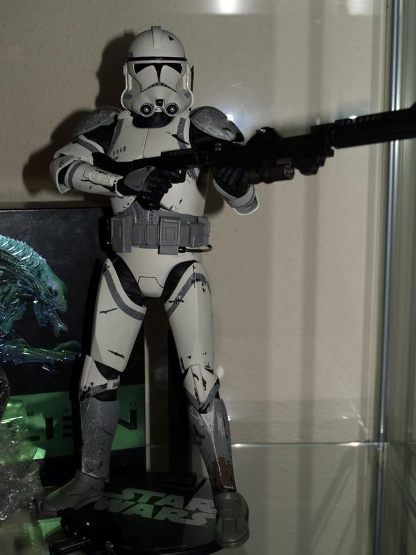 41st Elite Corps : Coruscant Clone Trooper 12-inch Figure A310