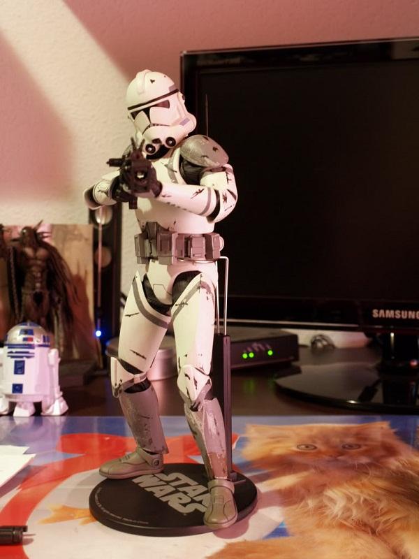 41st Elite Corps : Coruscant Clone Trooper 12-inch Figure X11