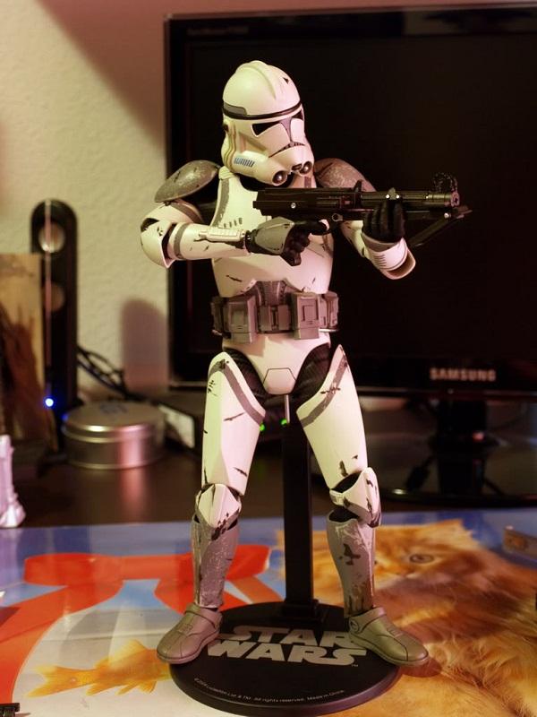 41st Elite Corps : Coruscant Clone Trooper 12-inch Figure Y11