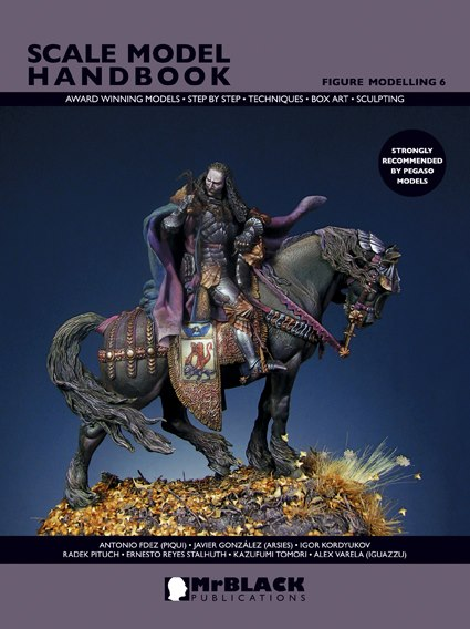 Scale Model Handbook 6, Figure Modelling 6 64440210