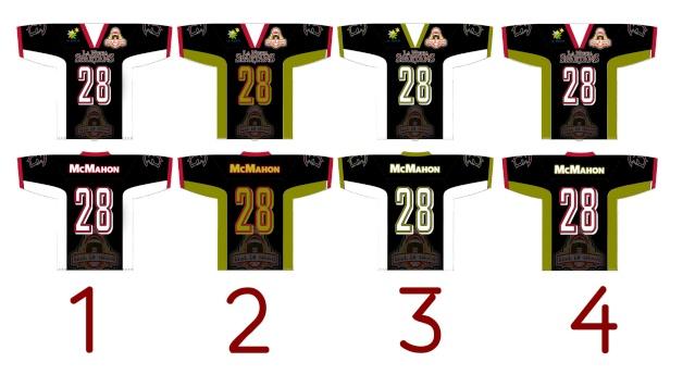 camiseitas espical / special jerseys Bowls10
