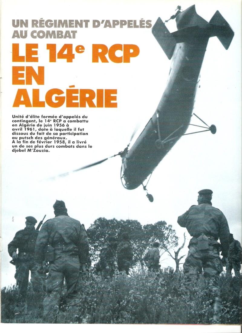 Le 14e RCP en Algérie  Numar119