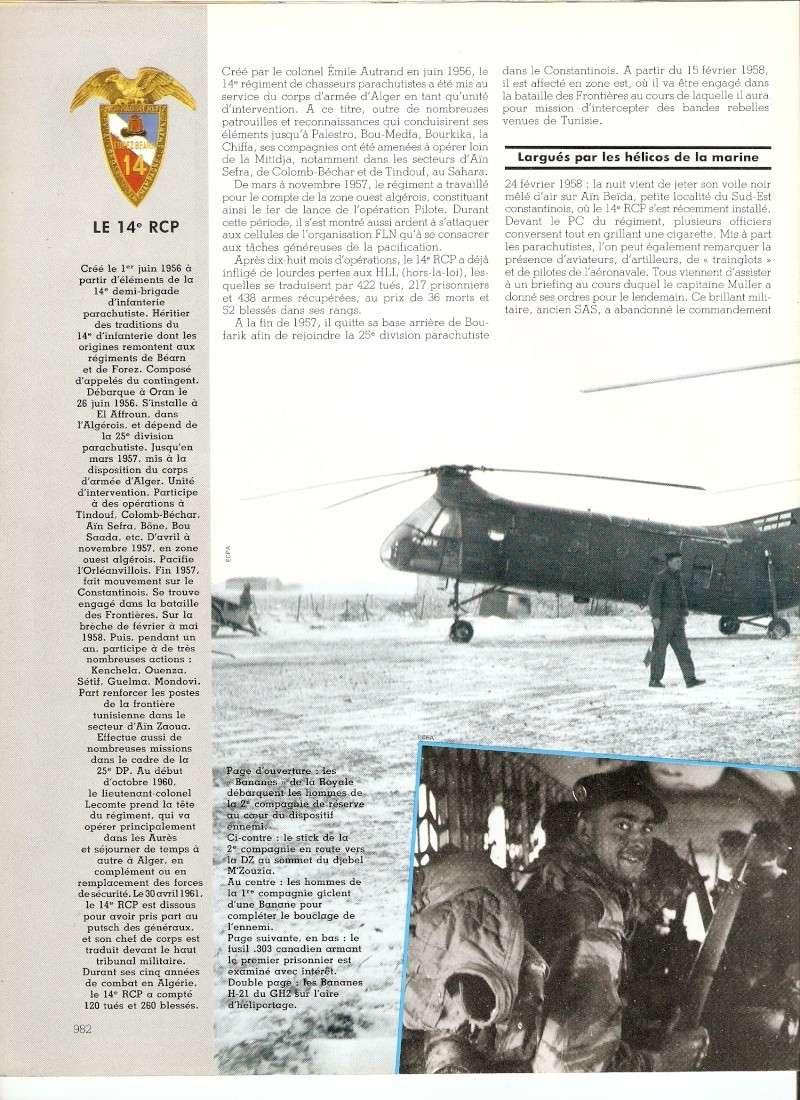 Le 14e RCP en Algérie  Numar120