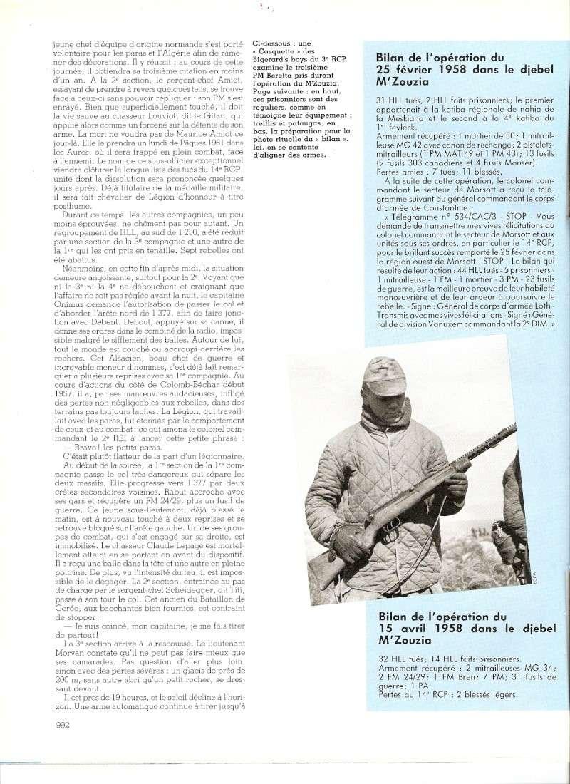 Le 14e RCP en Algérie  Numar130