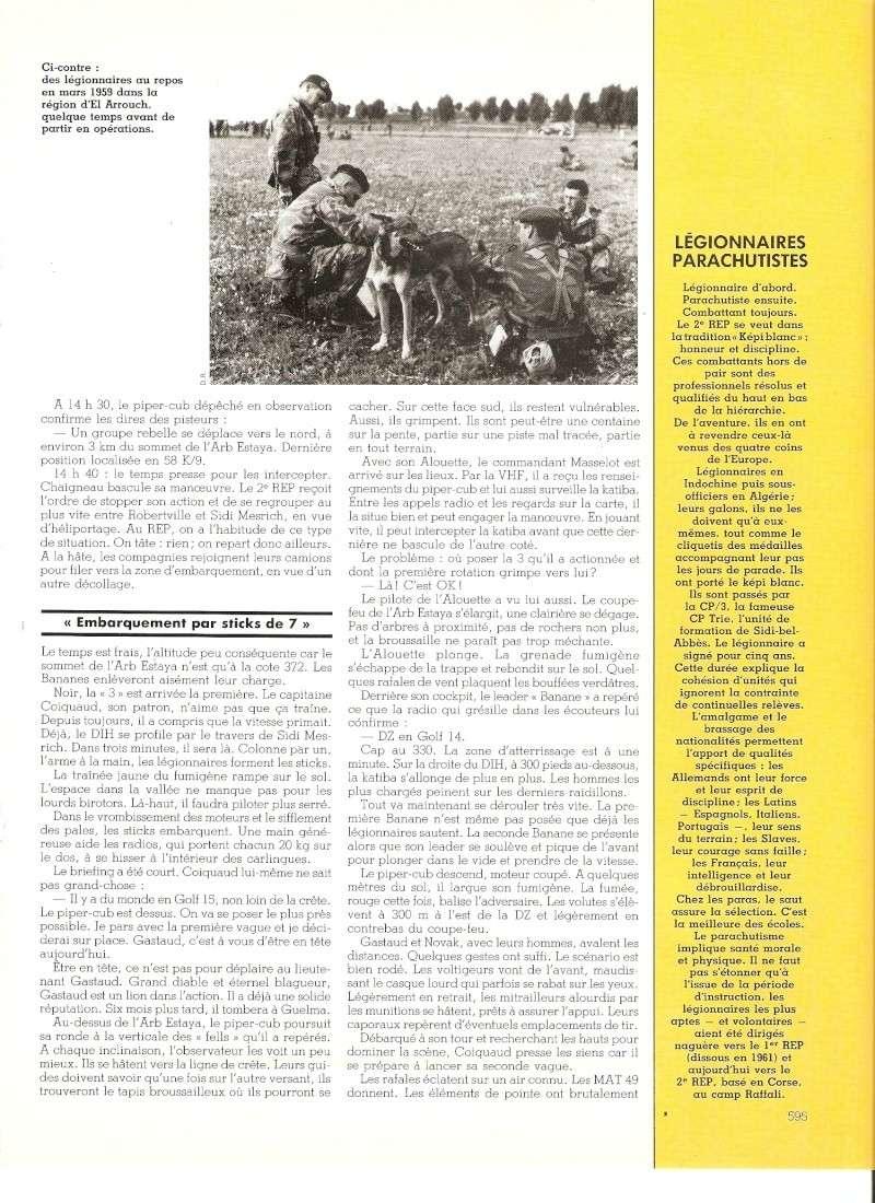 Les Légionnaires Paras au combat Numar141