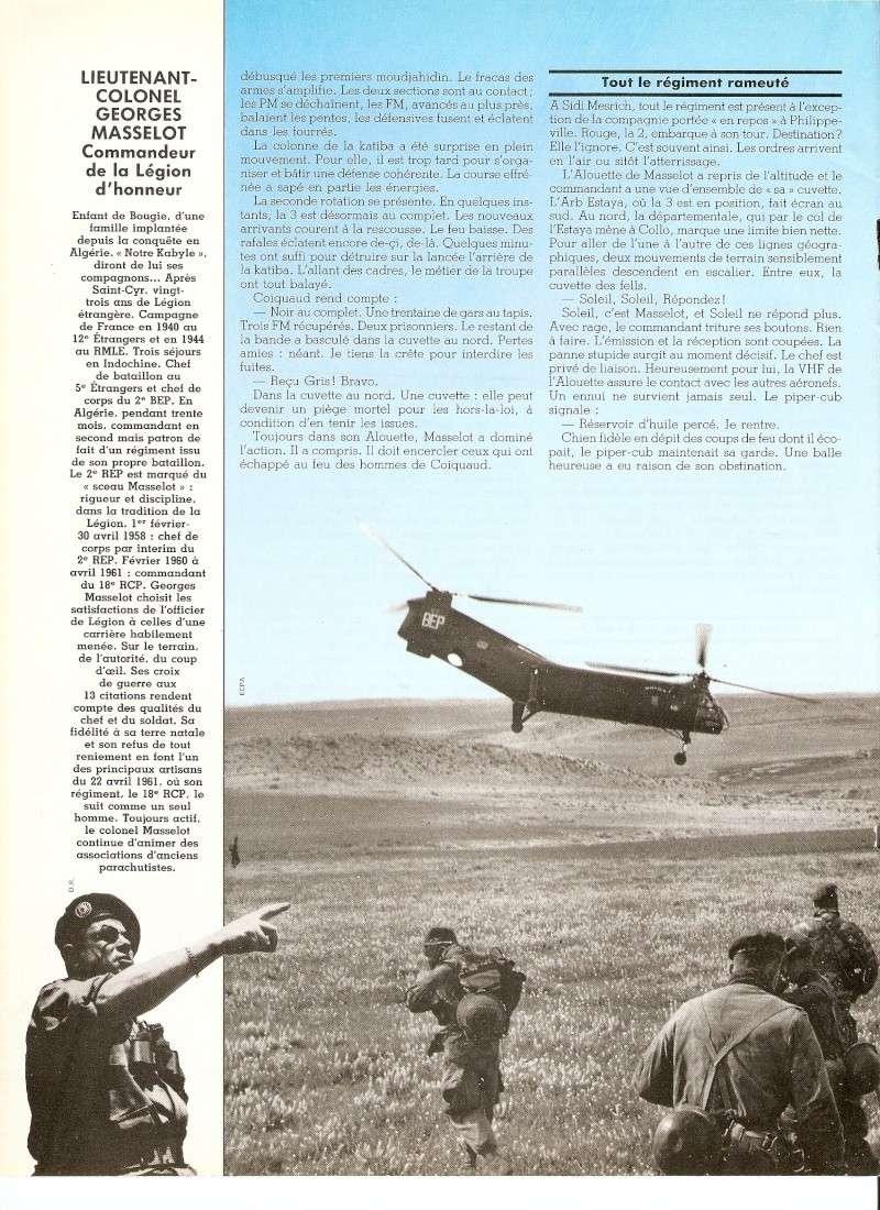 Les Légionnaires Paras au combat Numar142