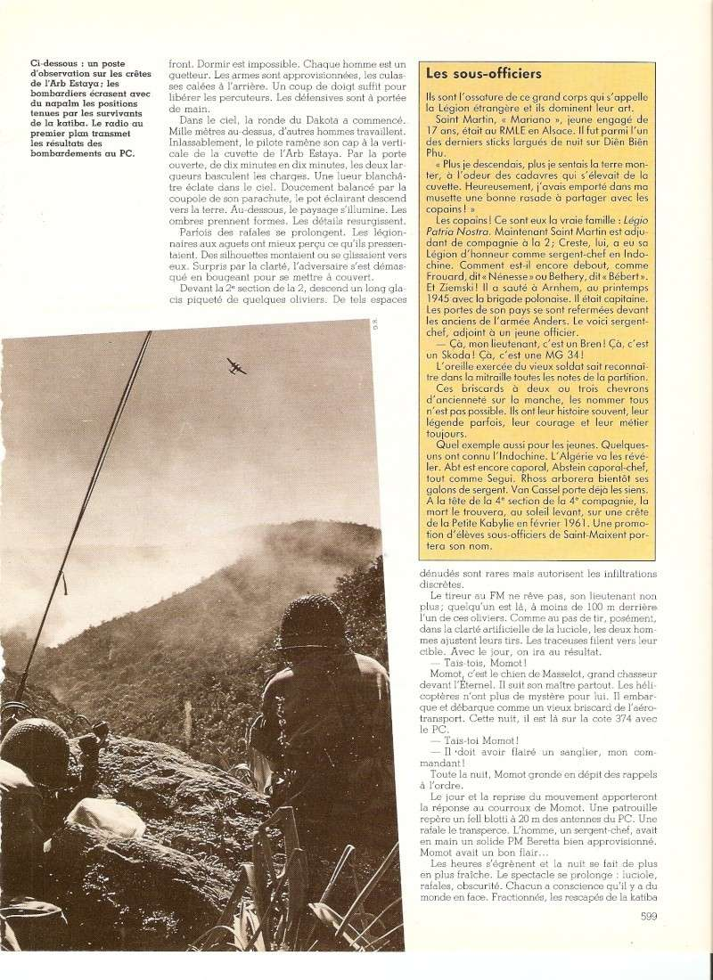 Les Légionnaires Paras au combat Numar145