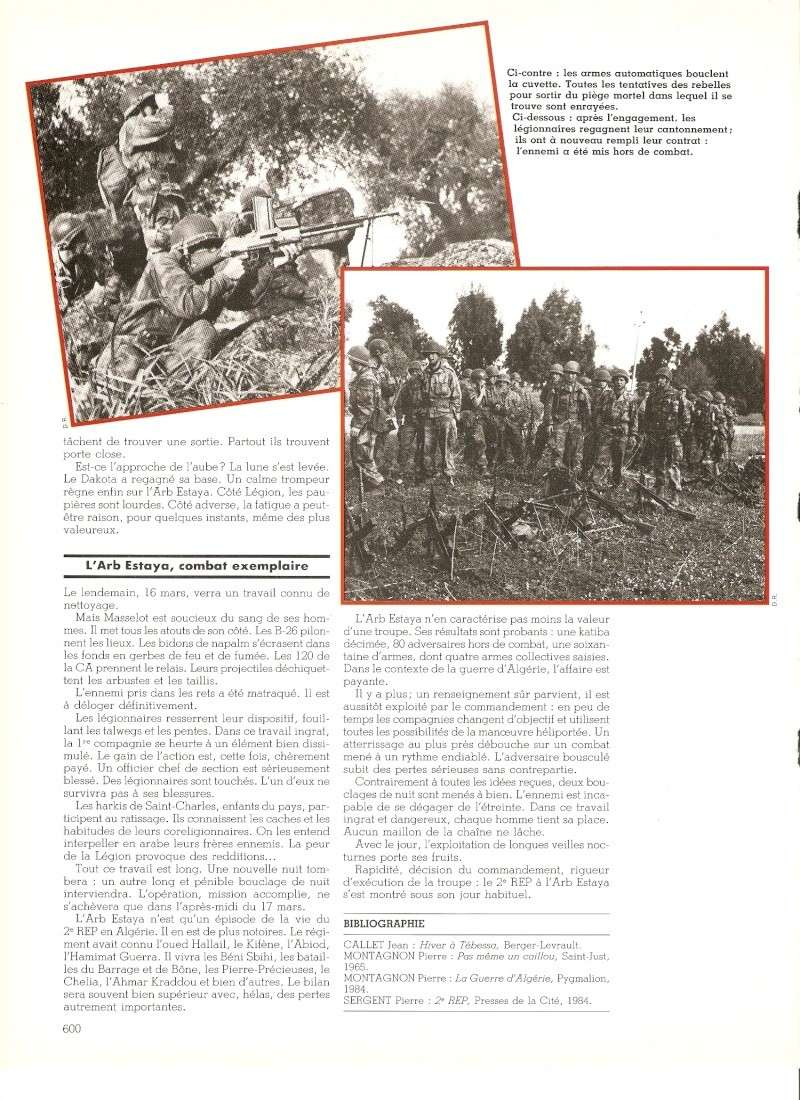 Les Légionnaires Paras au combat Numar146