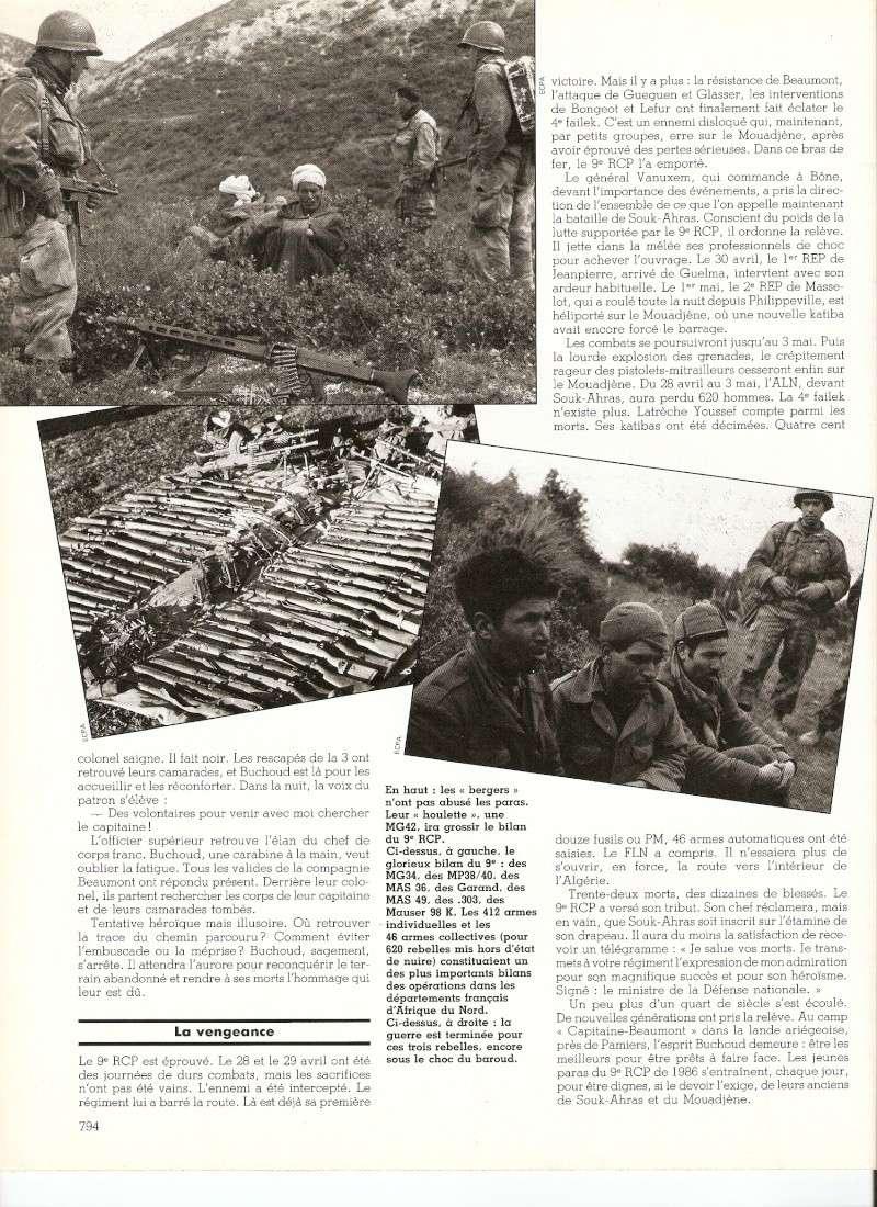 SOUK-AHRAS: Les Paras du 9e RCP vengent leurs morts. Numar153