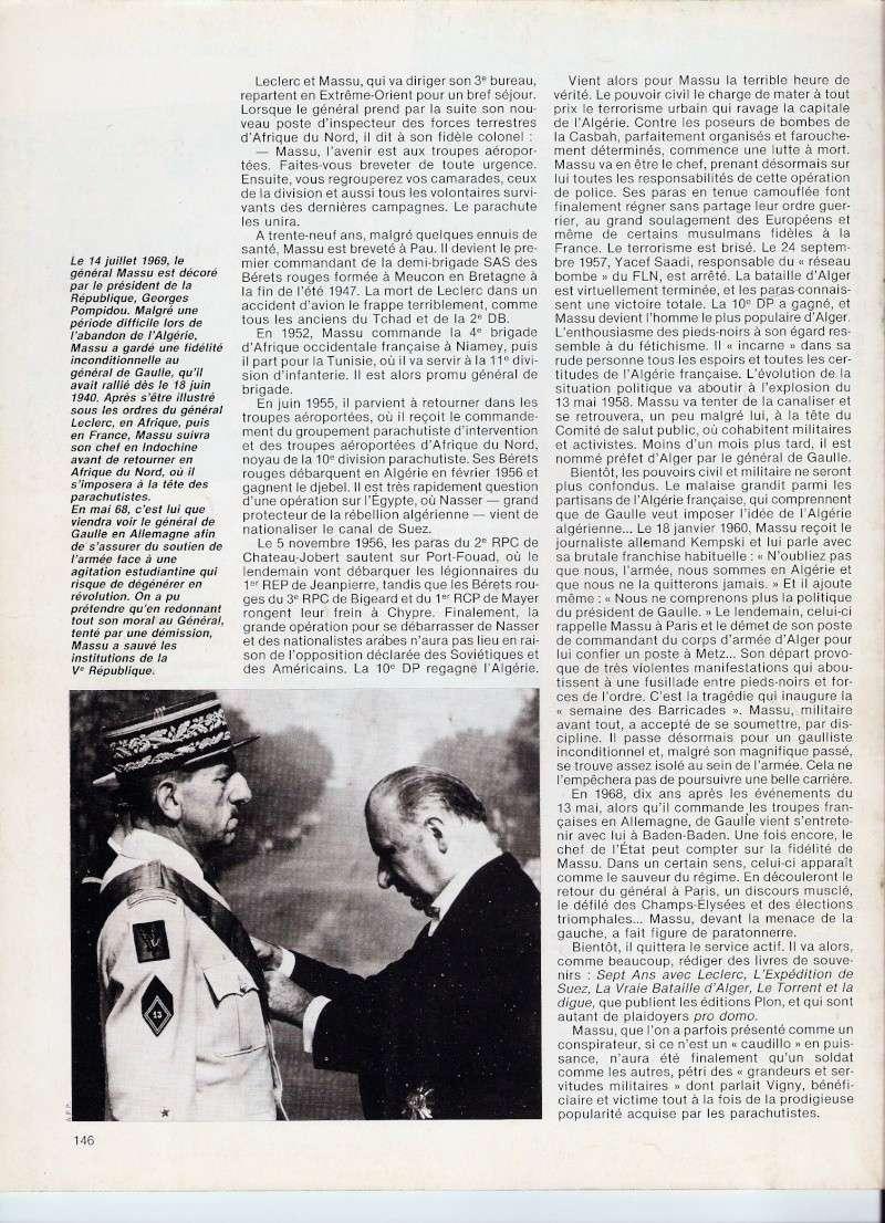 MASSU Jacques Général - officier mythique du 13 mai 1958 à ALGER - comité de salut public Numari36