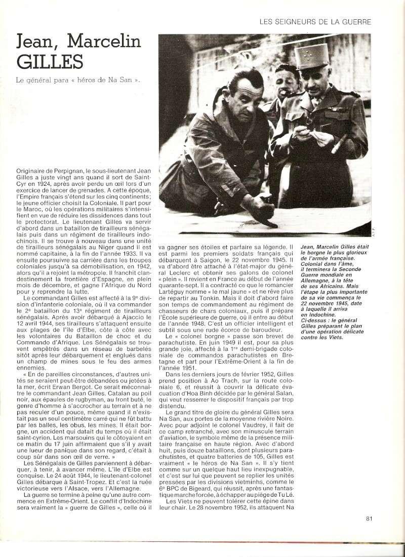 """GILLES Jean Marcelin, le Général para """"héro de Na San"""" Numari39"""