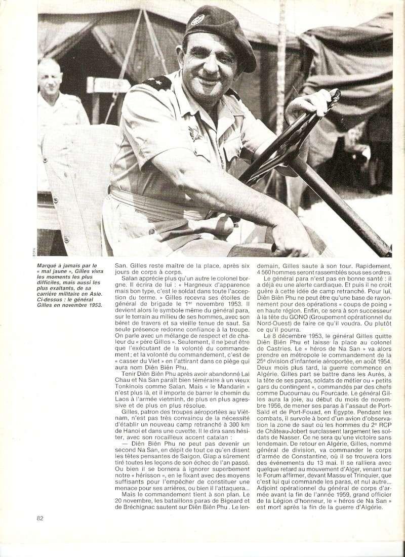 """GILLES Jean Marcelin, le Général para """"héro de Na San"""" Numari40"""