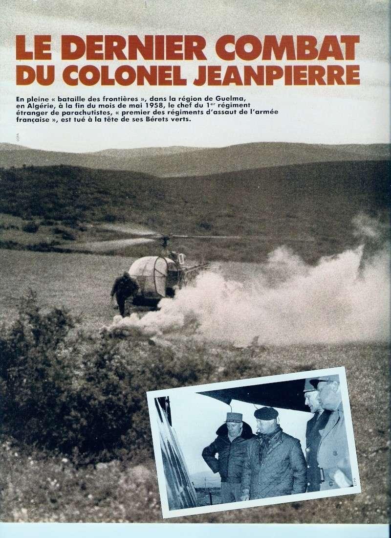 JEANPIERRE Pierre Lnt-Col: c'est notre capitaine qui compte ses morts... Numari54