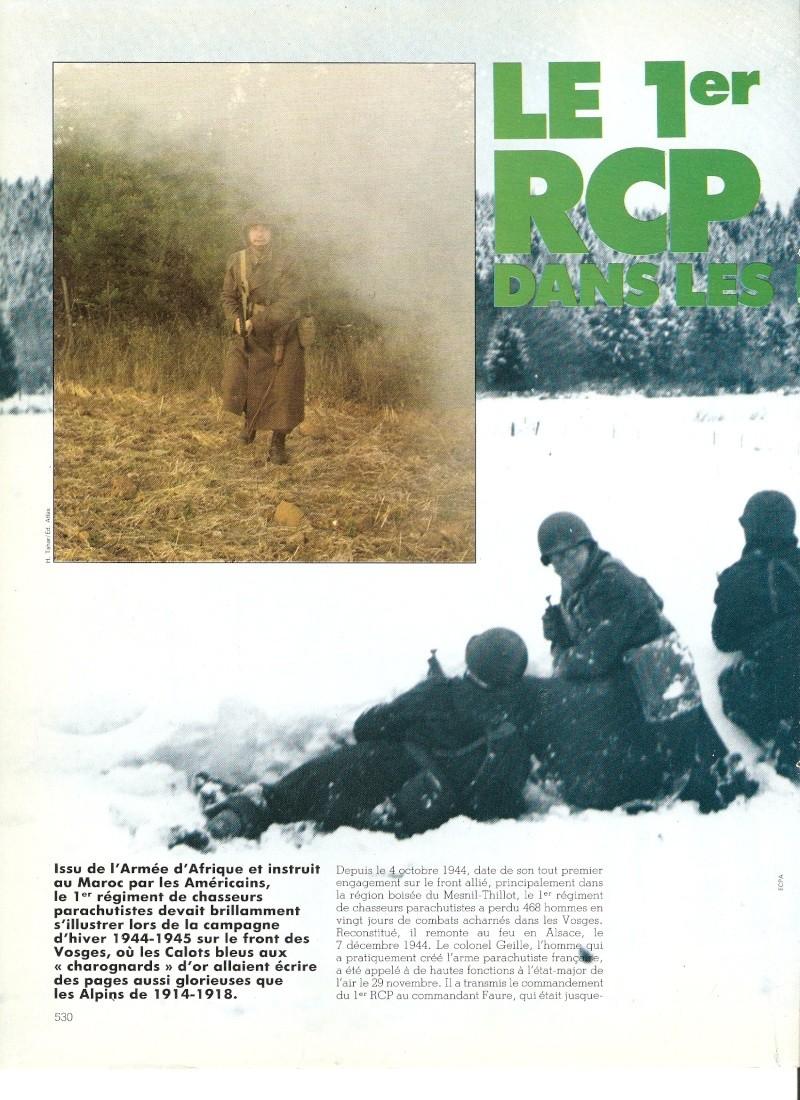 commémoration bataille des Vosges 1945 1er RCP Numari61