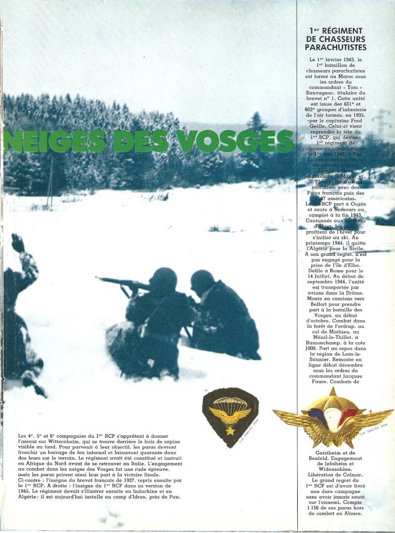 commémoration bataille des Vosges 1945 1er RCP Numari62