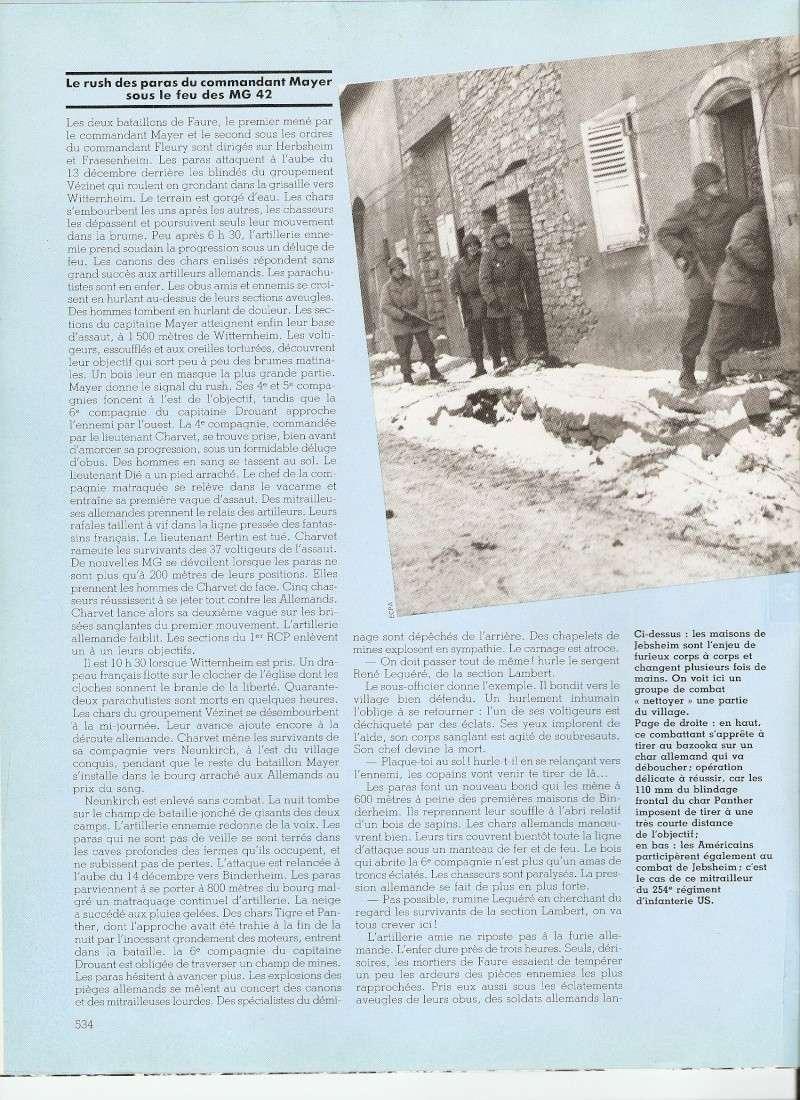 commémoration bataille des Vosges 1945 1er RCP Numari65