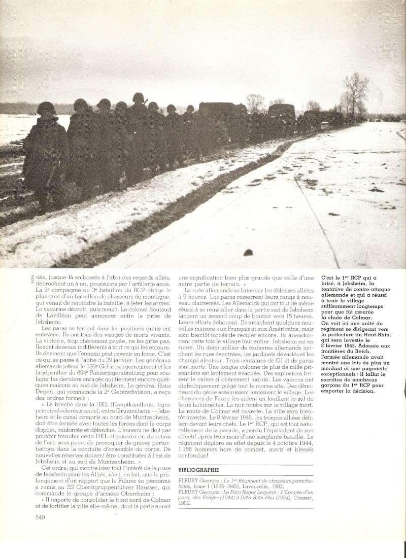 commémoration bataille des Vosges 1945 1er RCP Numari71