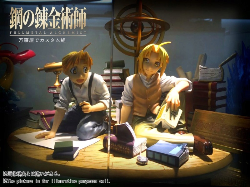 Oniri Créations : Edward Elric Statue (Fullmetal Alchemist) 01_9bf10