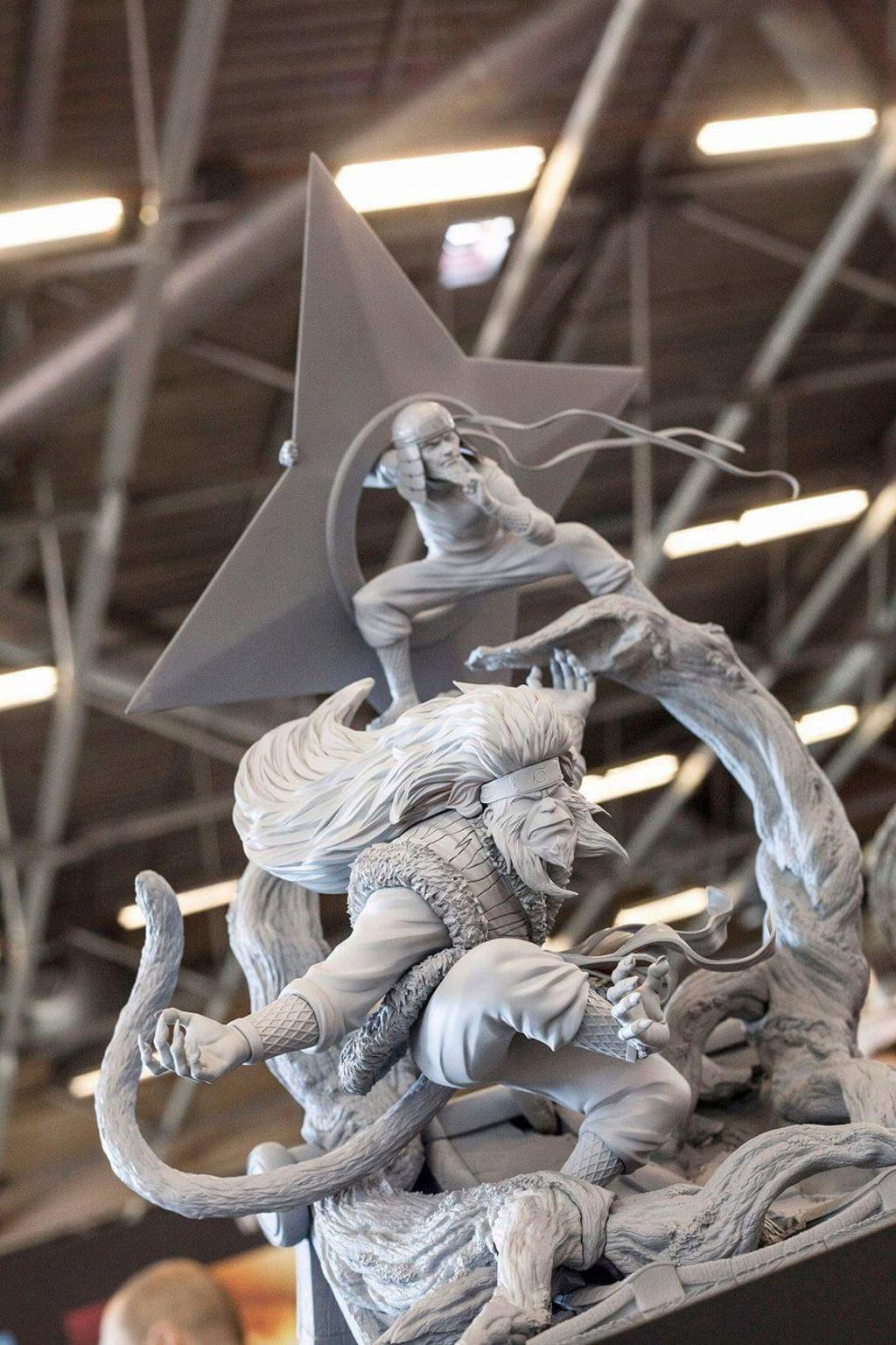 Oniri Creations : Naruto Hiruzen Sarutobi 36748610