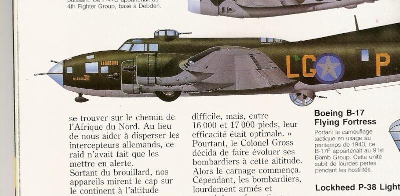 transformation B-17G monogram  en B-17 F B-1710