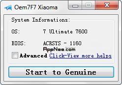 Active WIN 7 bản quyền +upgrade window 7 keygen Oem7f710