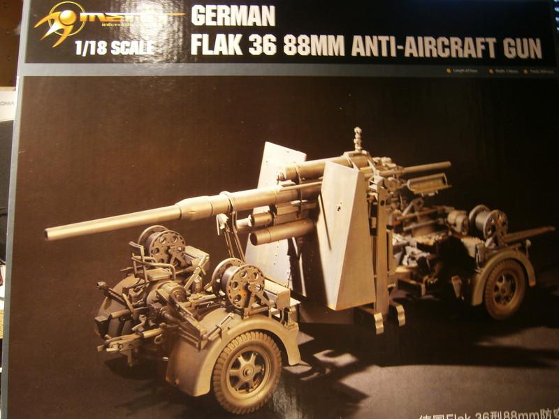 8,8cm Flak 36, Merit / 1:18 P9160010