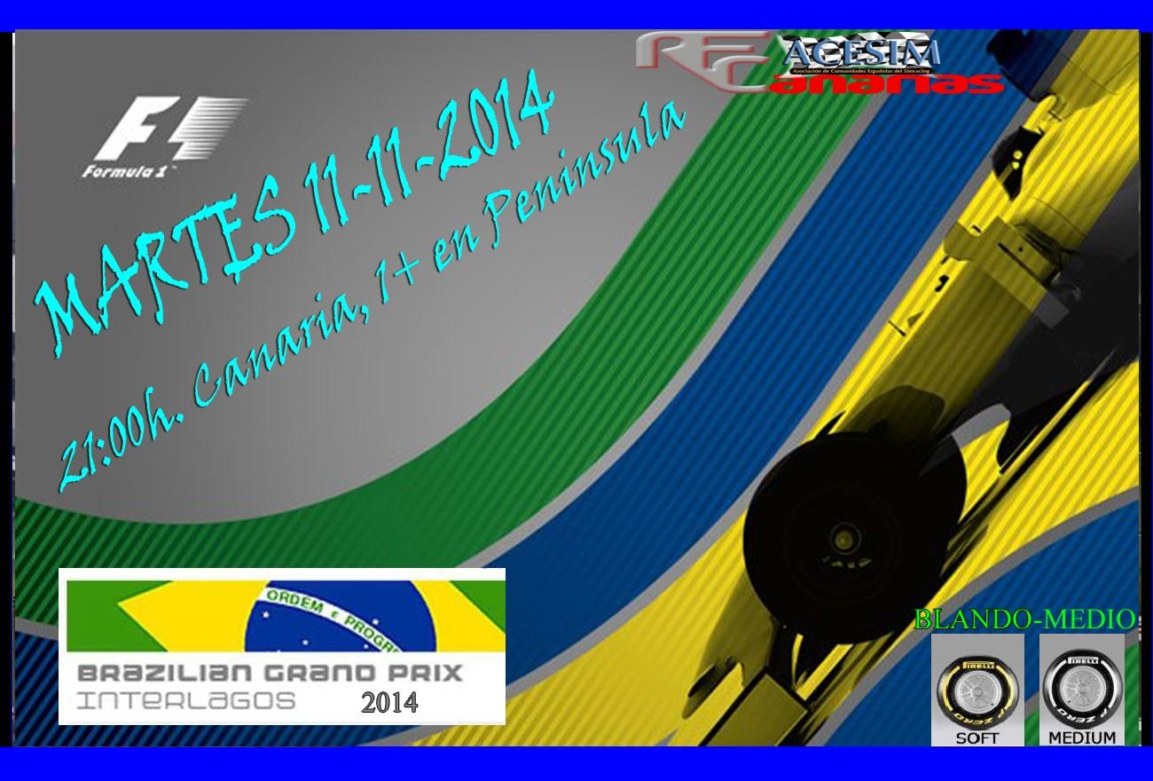 COMENTANOS COMO TE FUE EN GP BRASIL2014 Presen11