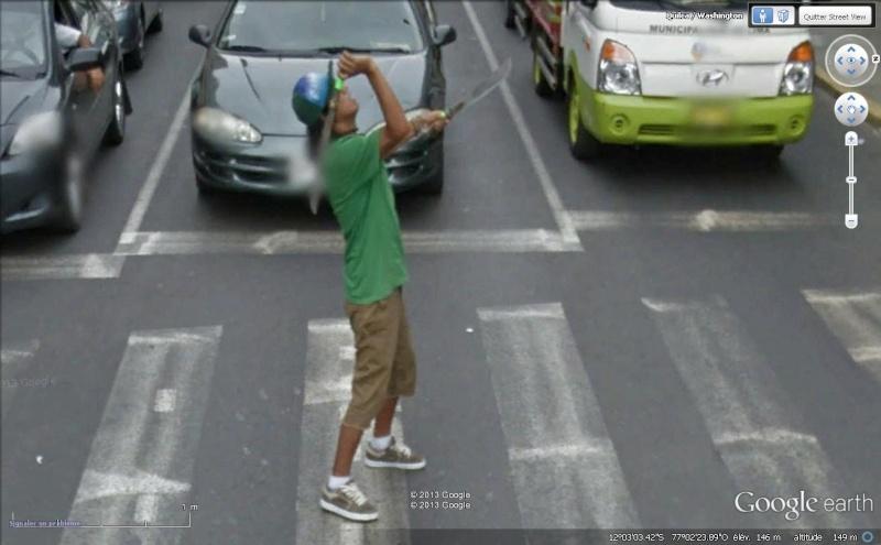 Street View : Bienvenue à Lima Cout110