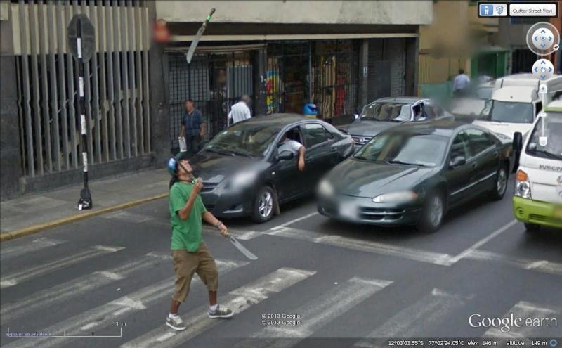 Street View : Bienvenue à Lima Cout210