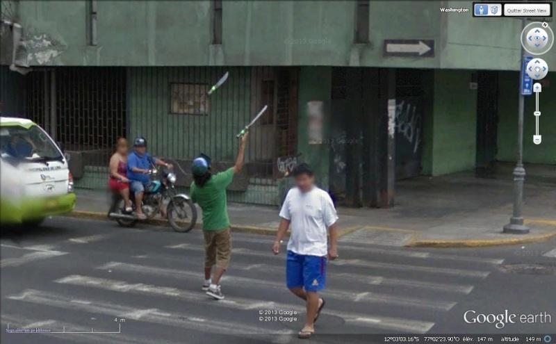 Street View : Bienvenue à Lima Cout310