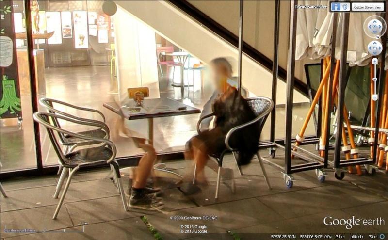 Street View : Protéger son anonymat à tout prix , quitte à être ridicule , Liège ( Belgique ) Dispar10