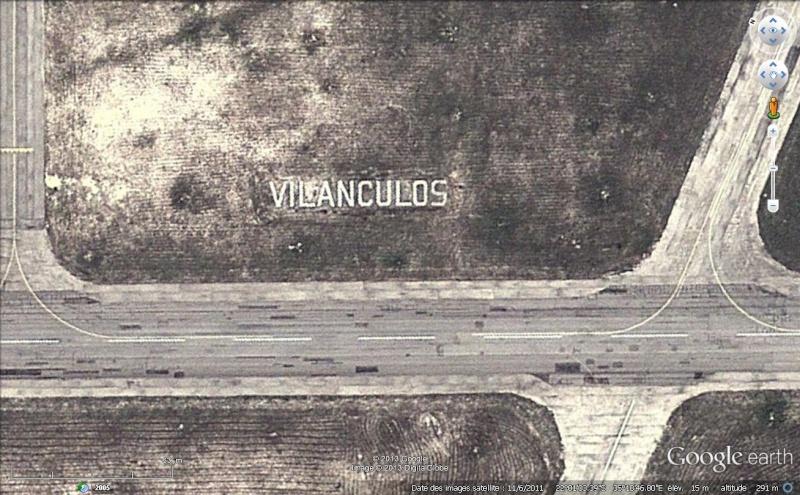 Les inscriptions et écritures sur aérodromes et aéroports - Page 7 Vilanc10