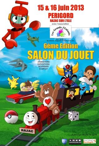 6ème salon du jouet à Razac en Périgord (PHOTOS PAGE 2) Affich11