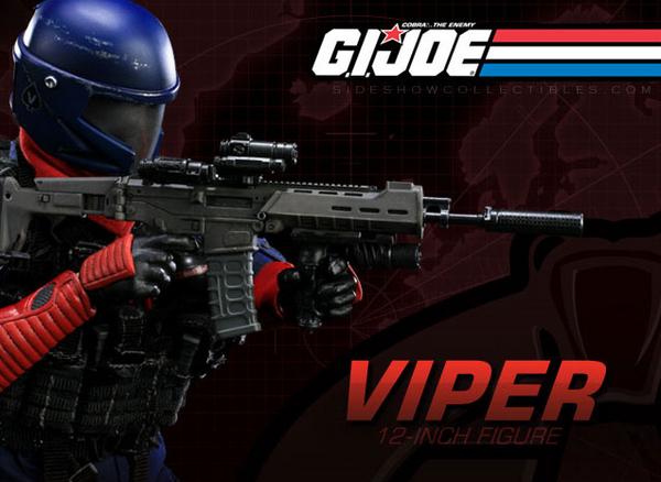 [GI JOE] sideshow: LES PERSONNAGES sur le premier post Viper_10